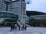 동명대학교 드론교육전문가 무료 양성사업 진행 모습