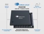 CS43130이 원음과 가능한 가장 가까운 깨끗한 음질을 보장해 모바일 기기 고품질 오디오의 새로운 기준을 만들었다