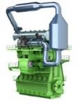 고압 SCR 시스템(이미지는 삽화 용도로만 사용 가능)