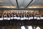 유엔글로벌콤팩트 한국협회가 24일 소공동 롯데호텔에서 서울을 비롯한 전국 7개 도시 및 지역상공회의소 관계자, 기업 대표들과 함께 페어플레이 반부패 서약 선포식을 개최했다