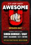 2017 힙합콘서트 Awesome U-Brokenday 포스터