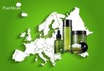 퓨어힐스 유럽화장품시장 진출 위한 유럽 인증 등록을 완료했다