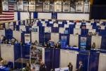 존슨앤웨일즈대학교에서 1년에 4번 개최되는 Career Expo 현장