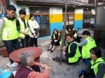 동명대 학생들의 홀로어르신 방문 봉사활동