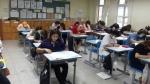 수험생들이 CS클레임관리사 시험을 치르고 있다.