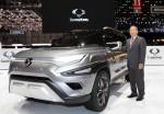 쌍용자동차는 2017 제네바모터쇼에서 최종식 대표이사를 비롯한 회사 관계자와 내외신 기자들이 참석한 가운데 7일 프레스데이 행사를 열고 New Style 코란도 C를 유럽시장에 론칭했다