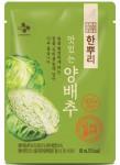 CJ제일제당 건강식품 전문 브랜드 한뿌리가 생약성분을 담은 한뿌리 양배추즙을 출시했다