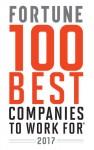 힐튼이 2017 포춘지 선정 일하기 좋은 100대 기업에 선정됐다