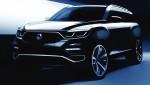 쌍용자동차가 오랜 기다림 끝에 선보이는 플래그십 SUV 신차의 렌더링 이미지를 공개했다