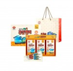 동원F&B 홍삼 브랜드 천지인이 어린이들을 위한 천지인 꼬마버스 타요 홍삼젤리를 출시했다