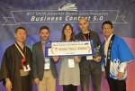 NTT 데이터, 개방형 혁신 비즈니스 대회 최종 수상자로 소셜 코인을 선정했다