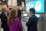 삼성SDS가 19일부터 미국 라스베이거스에서 열리고 있는 IBM 인터커넥트 2017 행사에 참가해 IBM 솔루션과 결합한 다양한 솔루션을 전시했다
