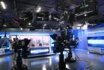 미국 NBC 방송국의 뉴스데스크에 설치된 레온의 방송용 LED 조명
