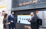 LG전자는 최근 카타르 최대의 쇼핑센터 몰 오브 카타르에 300제곱미터 규모의 프리미엄 브랜드샵을 오픈했다