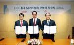 HDC현대산업개발의 아이파크가 SK텔레콤의 인공지능 기술과 홈 IoT 서비스 '스마트홈을 만나 첨단 아파트로 업그레이드된다
