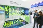 클라우드 기반의 개방형 IoT 운영 시스템인 마인드스피어가 한국 시장에 첫선을 보이고 있다. 현장에서 데이터가 플랫폼으로 수집되는 장면을 시연하고 있다