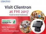 클라이언트론이 2017 인도네시아 국제 식품 및 호텔 산업전에서 혁신적인 POS 기기를 선보일 예정이다