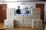 에코오가닉코리아가 아이들을 위한 구강청결티슈 6천점을 기부했다