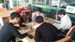 동명대 창의설계엔지니어양성사업단 재학생들이 배움-나눔 프로그램을 진행 중이다