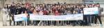 함께하는 사랑밭이 3월 25일 현대오토에버 임직원 및 가족 85명과 함께 대동세무고등학교에서 벽화 그리기 봉사활동을 실시했다