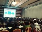 2017 BI 컨퍼런스 Track2에서 데이타솔루션 정성원 상무가 제 4차 산업 시대의 빅데이터와 머신러닝에 대해 발표하고 있다