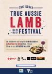 2017 Korea true aussie lamb festival 행사 포스터