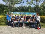 한국청소년연맹 봉사단원들이 어린이날을 맞이해 미아방지 캠페인을 실시한다