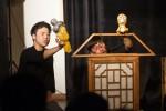서울문화재단 관악어린이창작놀이터는 예술로 상상극장 개발에 참여할 예술가를 5월 10일부터 17일까지 모집한다. 사진은 2016년 참가작 극단 마루한의 꼬마장승 가출기