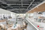 퍼시스가 오피스 공간 리뉴얼 프로젝트의 일환으로 서울 본사 쇼룸을 확장 오픈했다