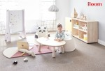 일룸이 유아기 성장 발달을 고려한 맞춤형 키즈 소파 아코 시리즈의 신규 라인으로 베어아코를 선보인다