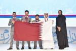 사진 우에서 좌로: 셰이카 힌드 빈트 하마드 알 타니 공주, 압두라만 알 카비시, 바라 다라, 아나스 라스라스, 하메드 후세인