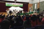 극단갯돌이 신나는 예술여행 청소년 시설 순회사업을 실시한다. 사진은 청소년과 함께하는 전통연희 체험 마당극 남도천지밥 공연