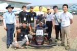 2016 창작자동차경진대회에 참여한 동명대학교 창의설계엔지니어양성사업단 모습