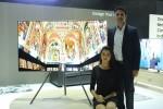 삼성전자가 인도 델리에 위치한 메리어트 호텔에서 QLED TV 런칭 이벤트를 열고 초 프리미엄 QLED TV 제품을 선보였다.