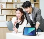 삼성전자가 11일 프리미엄 태블릿 갤럭시 탭 S3를 국내 출시한다