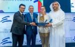 마지드 알 만수리가 페스 메크네스 경제포럼에서 상을 받았다