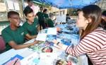 건국대학교는 교환학생 등 해외파견을 희망하는 학생들을 위해 해외파견 박람회를 23~25일 개최했다