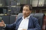 한국수퍼마켓협동조합연합회 강갑봉 회장이 희망이음 교육 참여 회원가입을 완료했다