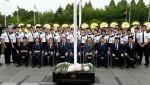 동명대 군사학과 재학생들이 25일 전몰UN용사 추모제에 참여했다
