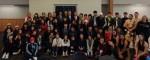 농정원이 농어촌지역 청소년 뉴질랜드 어학연수에 대한 오리엔테이션을 7월 1일 대전컨벤션센터에서 개최했다. 사진은 2016년도 한-뉴 농어촌지역 청소년 어학연수에 참여한 학생들 일동