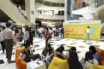 한국쓰리엠 포스트잇 브랜드가 3일까지 여의도 IFC몰 지하 3층 노스 아트리움 앞에서 직장인 대상 직급별 팝업 포스트잇 한정판 패키지 증정 이벤트를 실시한다