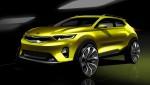기아자동차가 7월 출시 예정인 신형 소형SUV의 차명을 스토닉으로 확정하고 렌더링 이미지를 7일 공개했다