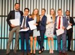 EHL 학생경영프로젝트의 우수상 수상자들