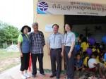 한국청소년연맹의 사회공헌 사업인 희망사과나무가 16일 캄보디아 시엠립 희망학교 2호 현판식을 열었다