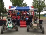 동명대 자동차공학과 재학생 10명으로 구성된 SEC-TU팀이 최근 2017 PRIME 국제대학생자작자동차대회에서 종합 2위를 달성하고 운전자편의성상을 수상했다