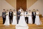 사단법인 코리아투게더가 1일 일산광림교회 본당에서 다문화 합동 결혼식을 개최했다