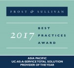 NTT 커뮤니케이션즈와 아카딘이 프로스트 앤 설리번 아시아태평양 ICT 어워즈를 수상했다