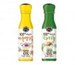 CJ제일제당이 21일 백설 만능요리 파기름과 백설 만능요리 마늘생강기름 2종을 출시했다