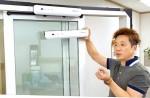 오토리움이 7월 한 달간 가정용자동문 요술자동문 매직슬라이더의 할인판매를 실시한다