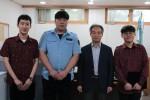 금천구시설관리공단이 2017년 우수 사회복무요원에게 표창을 수여했다